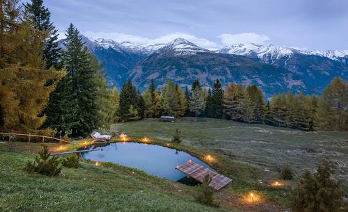 Traumhafter Panoramaausblick auf die Kärntner Bergwelt