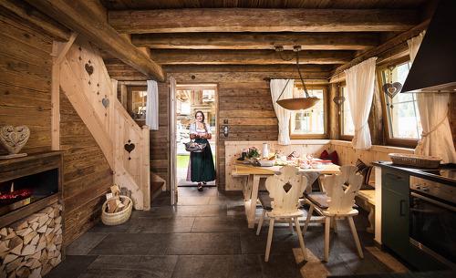 Uriges Ambiente für den Hüttenurlaub mit der ganzen Familie