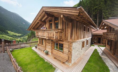 Sommerurlaub im Gletscher Chalet  im Stubaital in Tirol