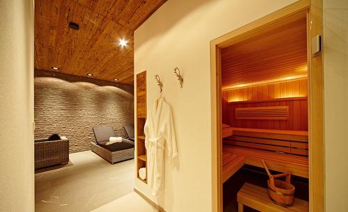 Chalet F in Ofterschwang- Privater Wellnessbereich mit Sauna
