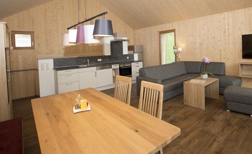 Genießen Sie den vielen Platz und Komfort in der gemütlichen Regitnig Chalets in Kärnten