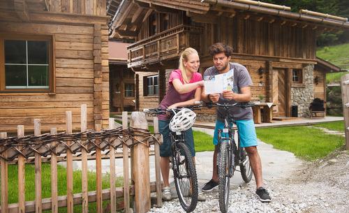 Bergsommer in Tirol- Unternehmen Sie Fahrradtouren im Stubaital