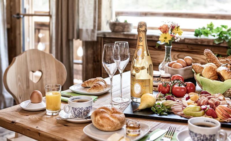 Moderne, vollausgestattete Küche für besonderen Genuss- privates Chalet in Wagrain