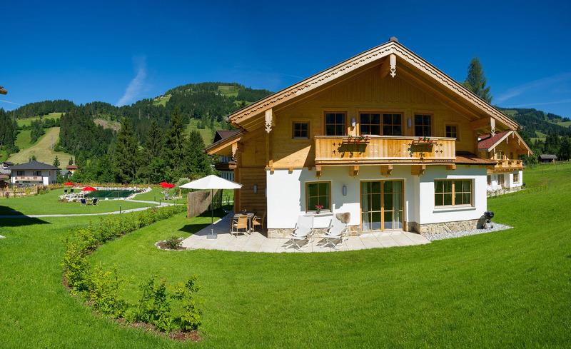 Wandern und Mountainbiken im Salzburger Land- Entspannen in der privaten Luxushütte