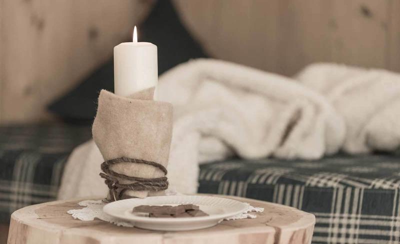 Ein Ort für romantische Stunden zu zweit- das alpine Chalet im Hüttendorf Ladizium