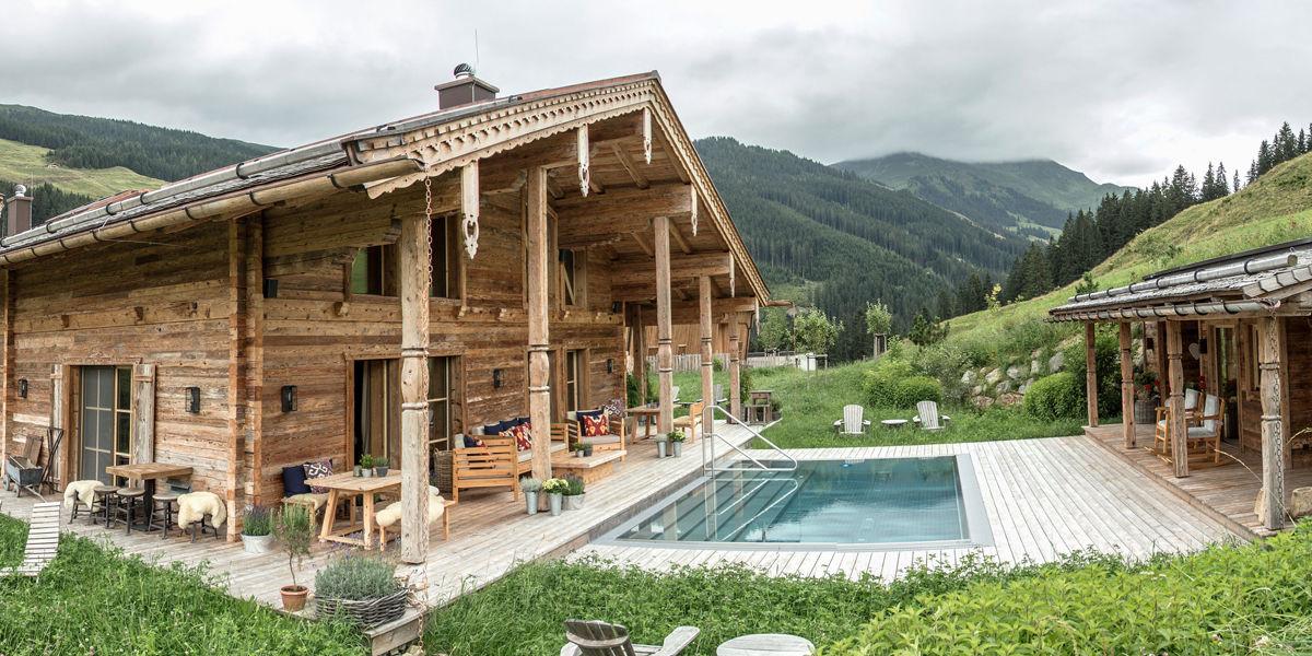 Das Luxuschalet Schmiedalm bietet den idealen Ausgangspunkt für diverse Outdooraktivitäten im Urlaub