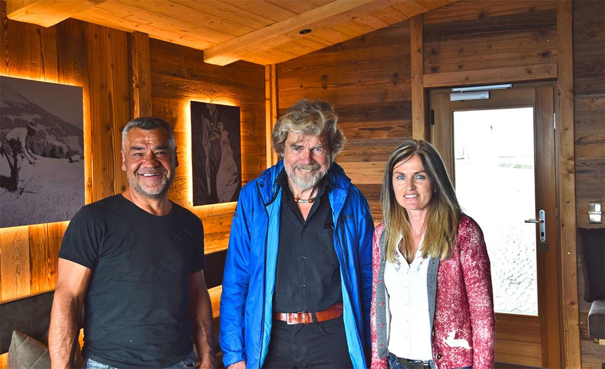 Das Reinhold Messner Chalet im Chalet Resort Kirchwies in Südtirol